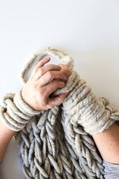 Making Arm Knitting Tighter-5912