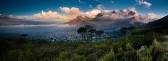 Table Mountain Panoramic Table Mountain, Cape Town, Mountains, Nature, Travel, Naturaleza, Viajes, Trips, Nature Illustration
