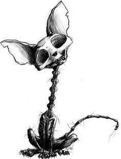 """ॐ dibujos calaveras ॐLe fabuleux destin d'Pigglety Pop. Creepy Drawings, Creepy Art, Creepy Sketches, Skull Drawings, Animal Skull Drawing, Inspiration Art, Art Inspo, Art Sinistre, Desenhos Halloween"