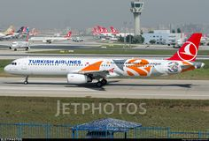 Turkish Airlines Euroleague - Final Four Livery. TC-JRO. Airbus A321-231. JetPhotos.com is the biggest database of aviation photographs with over 3 million screened photos online!