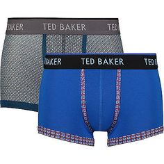 Men TED BAKER Two Pack Of Boxer Shorts Set.