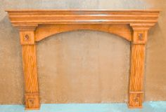 All Mantels are Custom Crafted to Your Specifications.
