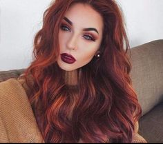 Natural red hair color - Hairstyle Fix Fall Hair Colors, Red Hair Color, Blue Hair, Red Hair With Blue Eyes, Autumn Hair Color Auburn, Color Blue, Hair Colors For Blue Eyes, Hair Colours, Summer Colors