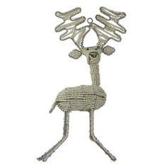 Weihnachtsschmuck-Perlen Ornament Rentier Weihnachten Ornamente 2er Satz von ShalinCraft, http://www.amazon.de/dp/B009KZBI7U/ref=cm_sw_r_pi_dp_4chOsb12ZNQKH