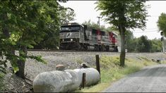 SHAVE and a HAIR CUT ~ Norfolk Southern's K90 w 9-1-1 Trailing - YouTube Norfolk Southern, Shaving, Trains, Hair Cuts, Videos, Outdoor Decor, Youtube, Haircuts, Hair Style