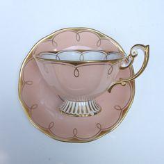 Rare Royal Albert Avon Shape Vintage Tea Cup and Saucer
