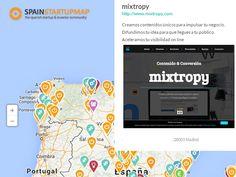 mixtropy en el mapa de las startups de españolas