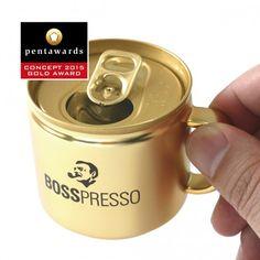 독특한 디자인의 에스프레소 캔 음료