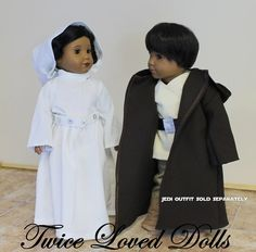 Princess Star Wars Outfit  18 Inch Doll Clothes by TwiceLovedDolls, $35.50