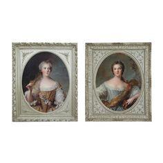 2 toiles en bois 50 x 60 cm MARQUISES