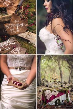 Little Red Riding Hood Marries The Wolf - Belle the Magazine . The Wedding Blog For The Sophisticated Bride