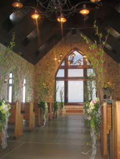 Ceremony Flowers by Twigs in Greenville, SC.