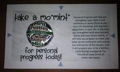 Take a Mo MINT for Personal Progress