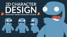 Character Design Tutorial | Moho Pro 12 | Anime Studio Pro | Part 1