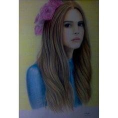 Drawing with color pencils