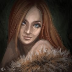 The Witcher: Triss Merigold Fan art