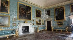Kedleston Hall: The Withdrawing Room--where the ladies withdrew to after dinner.