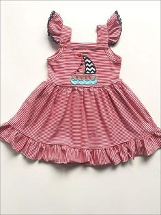 NWT Gymboree Red White /& Cute July 4 Patriotic Gingham Dress Baby Girl