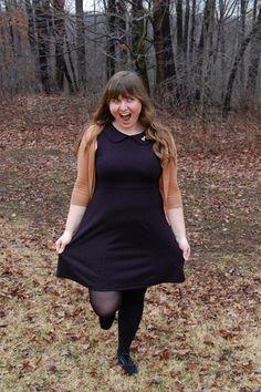Foxtail & Fern Dress in Black | Mod Retro Vintage Dresses | ModCloth.com