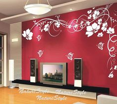 Amazing wall vynal (want to do a wall like this)