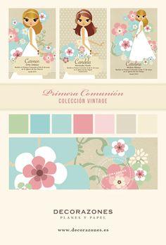 Decorazones_ Primera comunión, Colección Vintage