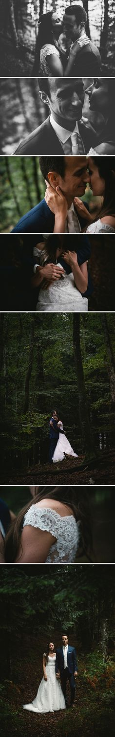 Intimate wedding session in the forest - Zephyr & Luna photography