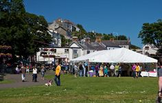 £96,000 to support the Ballycastle Town Market.