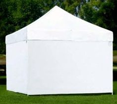 Pop Up Canopy With Sides | ... Side Panel for 10u0027 x 10 & white pop up canopy | 6x6-canopy-tent-white.jpg | Spa Light ...