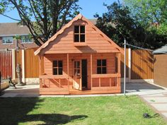 WENDY HOUSE TWO STOREY CHILDREN PLAY HOUSE 10FTX8FT