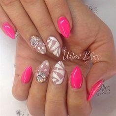 spring stiletto nails - Google Search