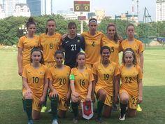 Australia's mini #Matildas wracking-up cricket scores in Vietnam.