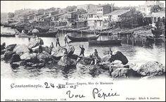 """Kumkapı'da """"Osmanlı çocukları""""... Kimbilir geleceklerini nasıl hayal ediyorlardı?"""