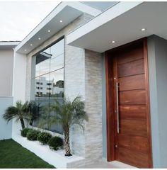 Modern Exterior House Designs, Design Exterior, Dream House Exterior, Modern House Design, Exterior Signage, Exterior Stairs, Craftsman Exterior, Exterior Cladding, Modern Houses
