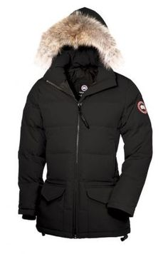 Canada Goose Outlet Solaris Parka Women Black On Sale - $310