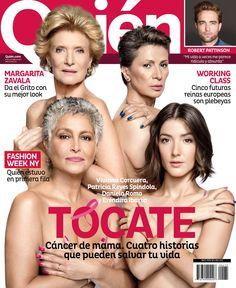 La Revista Quién en contra del cáncer de mama