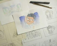 Story board corto de animación. #PDAfilms