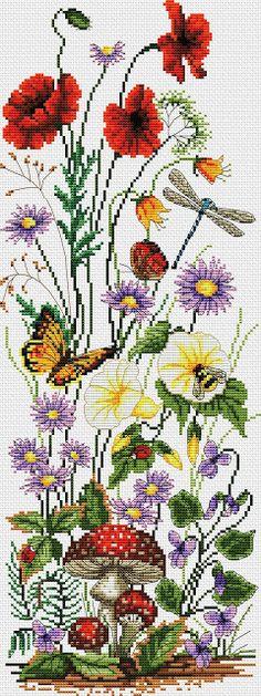 2393 fantastiche immagini su fiori a punto croce nel 2019 for Schemi punto croce fiori e farfalle