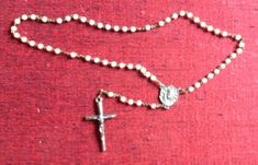 Rosary Our Lady of Medjugorje Apparition Vintage