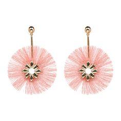Zinnia Tassel Earrings