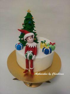 Elf - by Alpha @ CakesDecor.com - cake decorating website
