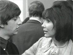 """Female Reporter ( played by Marianne Stone ): """"Are you a Mod or a Rocker?"""" Ringo Starr ( played by himself, of course ! I'm a. Day And Night Movie, A Hard Days Night, Richard Starkey, Vintage Vespa, The Yardbirds, Rocker Style, Beatnik, The Fab Four, Coffee Is Life"""
