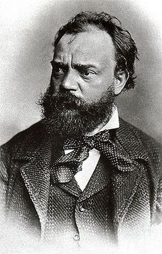 Antonin Dvorak, Czech composer who wrote three of his best known pieces while visiting America in1892 to1895: From The New World Symphony, The American Quartet, and Cello Concerto in B Minor...