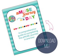 It's Here! The aMUSE in a Day Journey Guide. http://tinyurl.com/iamgirlscouts-amuse #iamgirlscouts