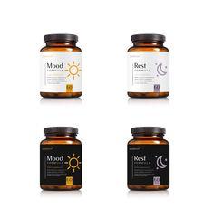 Designs   CLEAN SUPPLEMENT DESIGN for bottle label – Noorish: Mood Formula   Product label contest