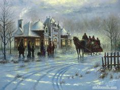 paintings country scenes | Paintings Of: Children Country Wonder Christmas Fat Chef Blog Bio Shop ...