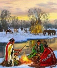 Pretty Native American Paintings, Native American Wisdom, Native American Pictures, Native American Beauty, Native American Artists, American Indian Art, Native American History, Indian Paintings, American Indians
