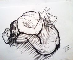 Quedan semillas sembradas en la espalda. El pasado florece en cada paso del presente. Dibujo de Tsune D. Orozco Toda.