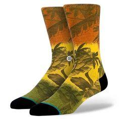Stance Jah-loha Socks Rasta L -XL M320A14JAH