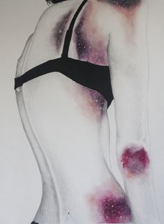 drawing art My art Grunge bruises cuts pastels artist on tumblr ...