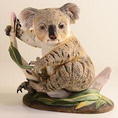 Koala Porcelain Sculpture | Boehm Porcelain